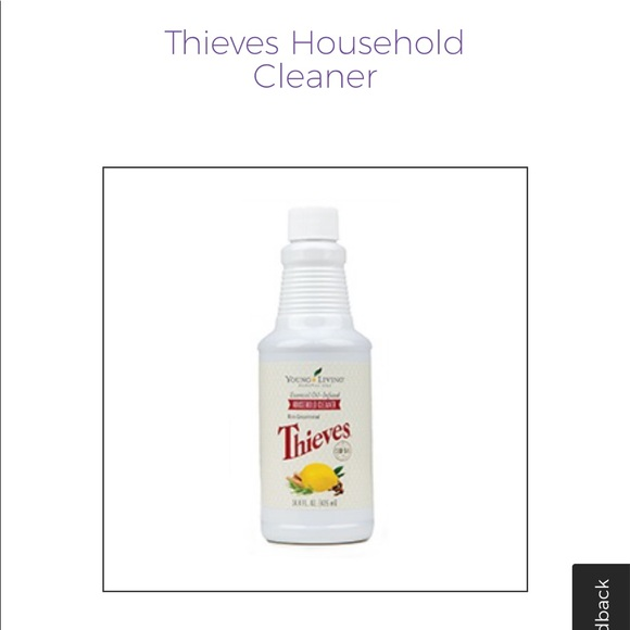 Young Living Thieves Household Cleaner